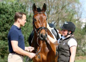 Знакомство с лошадью в конном клубе в Харькове