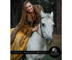 Съёмки для рекламы конный клуб Оскар